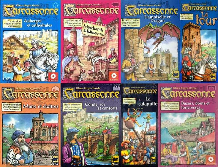 Carcassonne : extensions