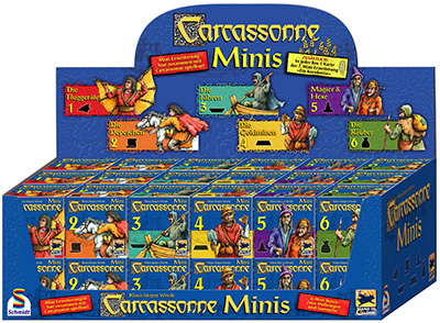 Carcassonne mini-extensions