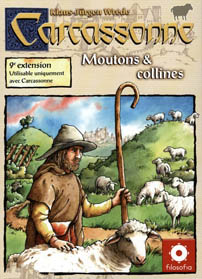 Carcassonne : Moutons & Collines